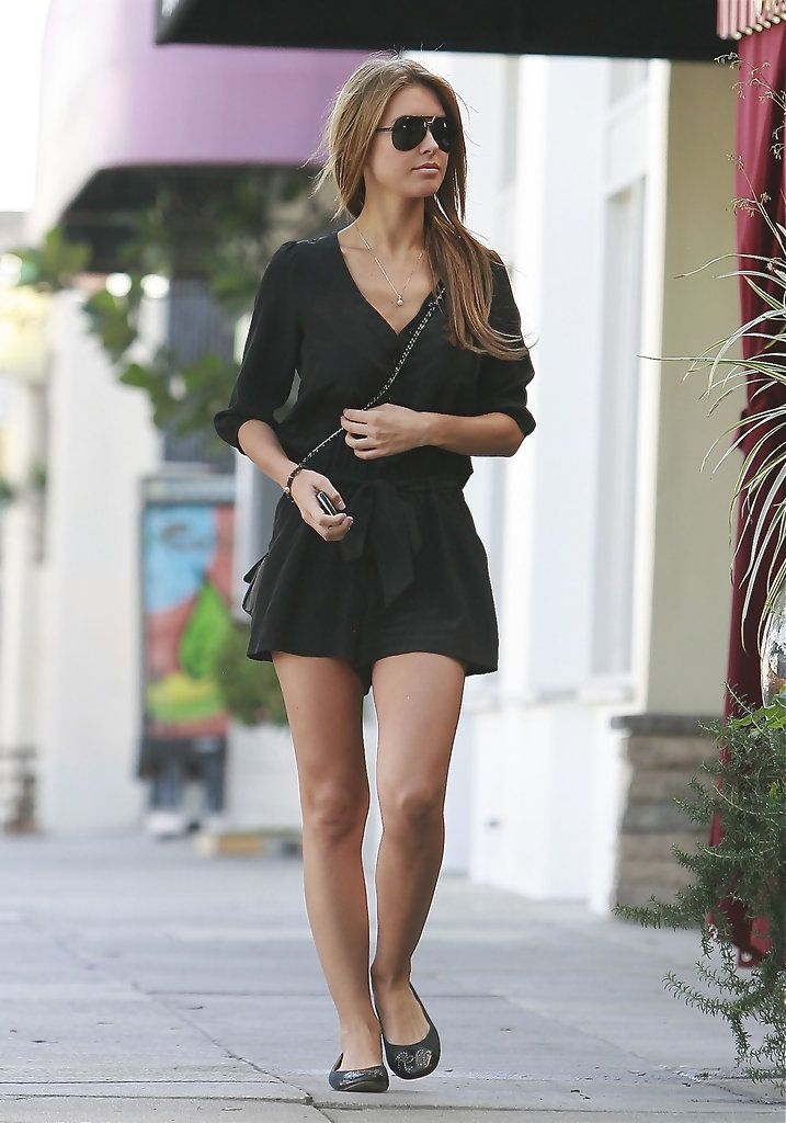 Audrina Patridge & Lo Bosworth Eating At Little Next Door Cafe
