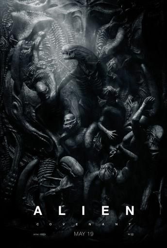 Alien Covenant Movie Poster Puzzle Fun-Size 120 pcs