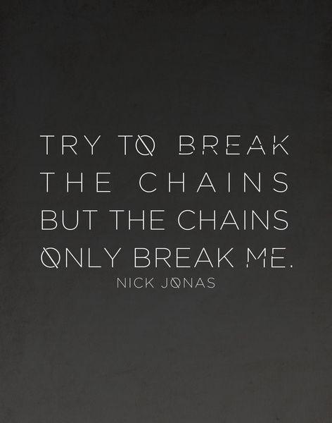 Chains Nick Jonas