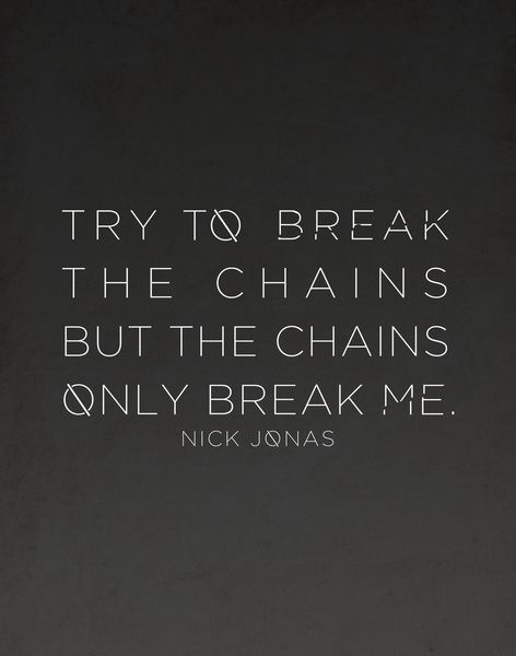 Chains Nick Jonas