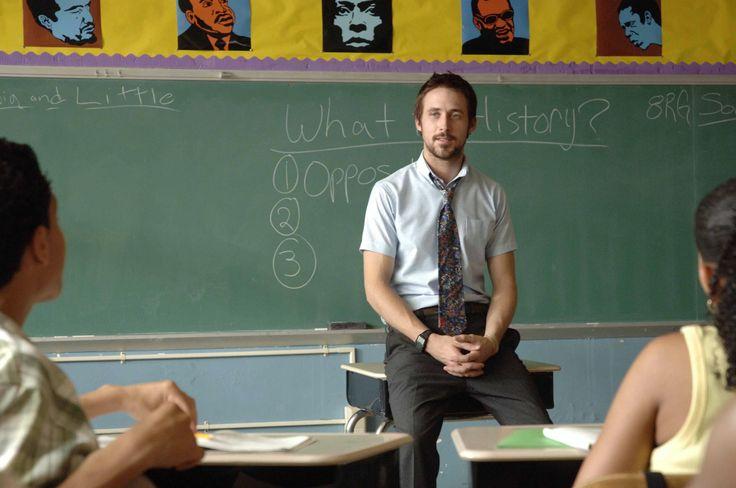 """Half Nelson"" movie still, 2006.  Ryan Gosling as Dan Dunne."