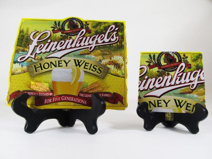 Honey Weiss Beer Coaster