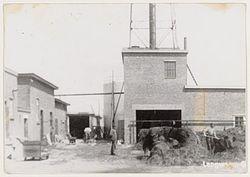 Vroegere olieslagerij te Langweer