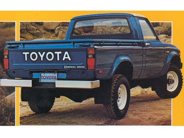 161 Best Toyota Pickup Images On Pinterest Trucks
