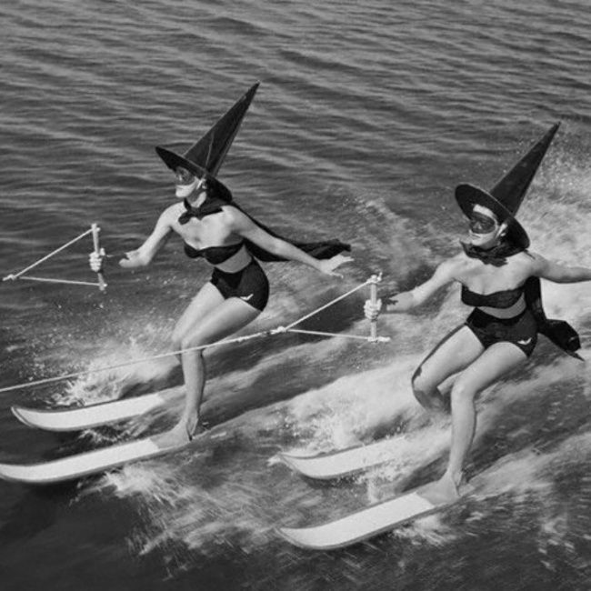 L'Halloween, en Floride, aux États-Unis, en 1954