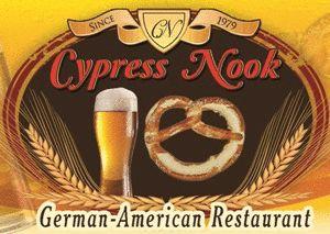 Cypress Nook Restaurant - an intimate German-American restaurant in Pompano Beach