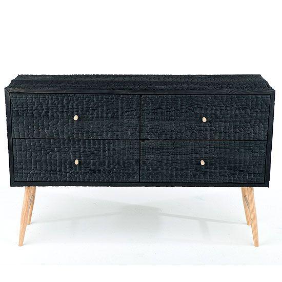 Charred Ladder Leg Cabinet   Michael James Moran Woodworked Furniture ($48.00) - Svpply