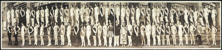1927 Miss America contestants.  Miss America 1927, the seventh Miss America pageant, was held at the Million Dollar Pier in Atlantic City, New Jersey on September 9, 1927.  The winner was 16-year-old Lois Delander who competed as Miss Illinois. She won the Miss America title on her parents' twentieth wedding anniversary.  This marked the last pageant to be held in the 1920s, the next Miss America competition would not be held until 1933