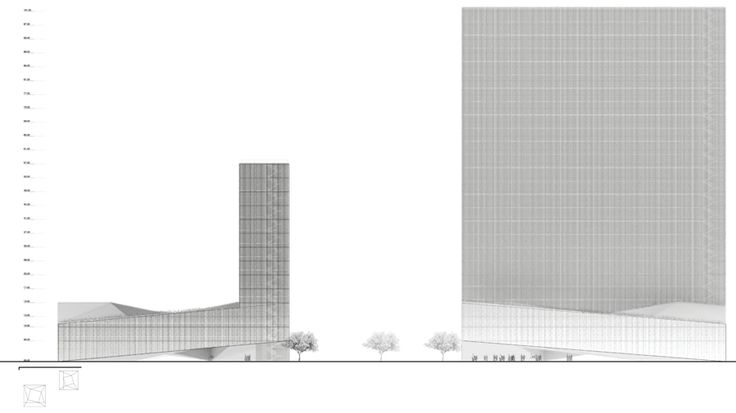 Intercontinental Hotel & Business Center Competition Proposal / Luis Banazol (19)