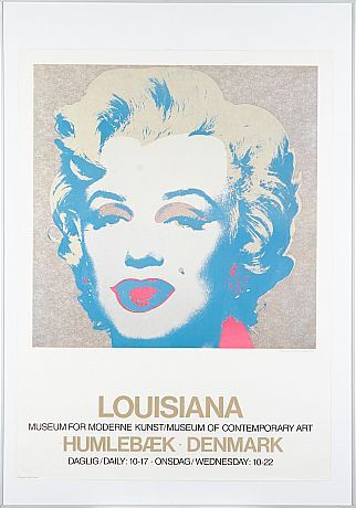 Affisch Andy Warhol Louisiana