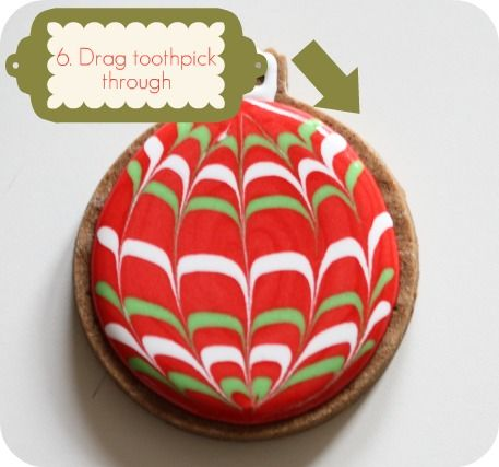 So neat...totally going to do this w/ my christmas cookies!