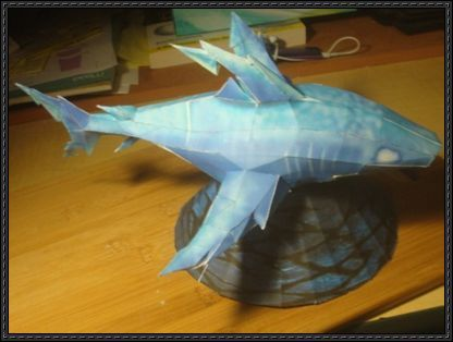 Wizard101 - Storm Shark Free Papercraft Download