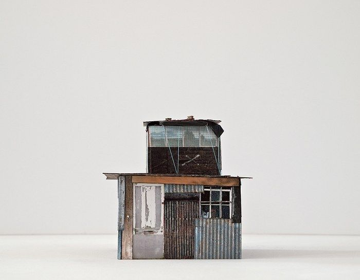 gimme shelter hut 15 - Conceptual Mixed Media by Artist Antonia Dewhurst