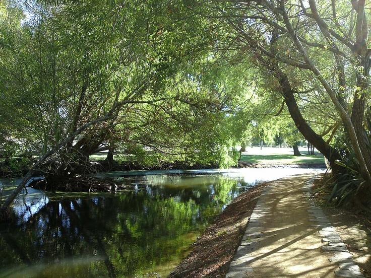 Lake Wendouree walking track.