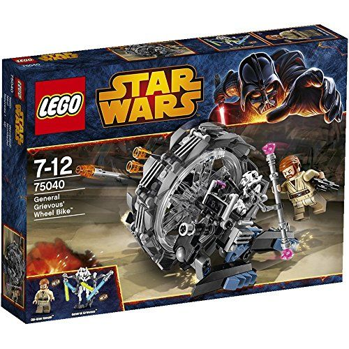 Lego Star Wars - 75040 - Jeu De Construction - General Grievous' Wheel Bike LEGO http://www.amazon.fr/dp/B00F3B41A6/ref=cm_sw_r_pi_dp_ayLwub1CHF72H