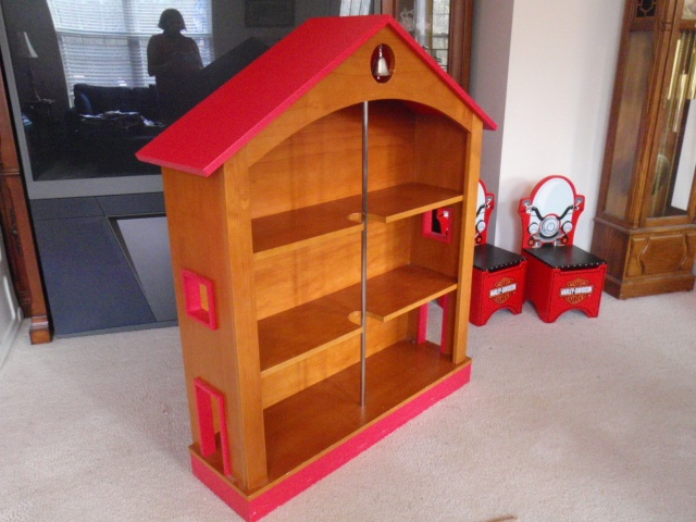 firehouse bookcase pb kids