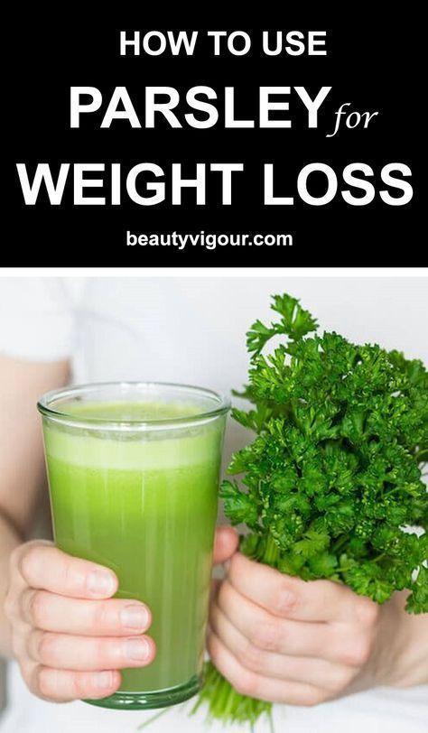 Verwendung von Petersilie zur Gewichtsreduktion   – easy weight loss