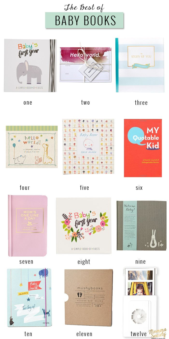 The Best Baby Memory Books  Momma Societythemunity Of Modern Moms   Www