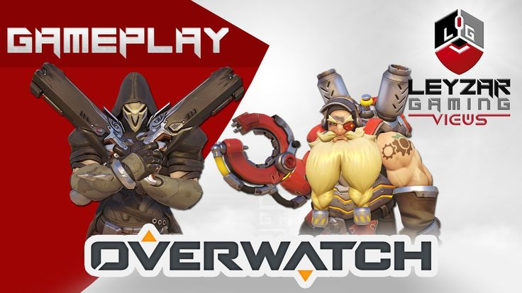 Overwatch Gameplay - Competitive Play Ranked Gameplay (Reaper & Torbjorn)