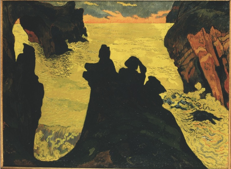 Georges Lacombe - La Mer Jaune, Camaret. 1892