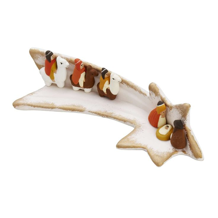 Follow the Star Nativity - Holiday - Products  http://www.tenthousandvillages.com/nativities-and-festive-decor/follow-the-star-nativity