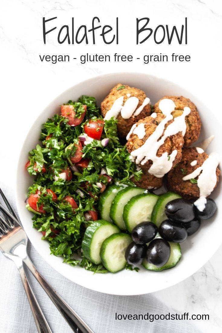 Falafel Bowl – Essen Ideen – # Bowl #Falafel #Essen # Ideen – Salat Rezepte -…   – ESSEN