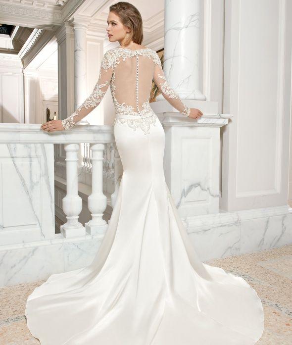 Long Sleeve Demetrios Wedding Dresses