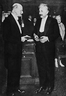 Max Planck and Albert Einstein