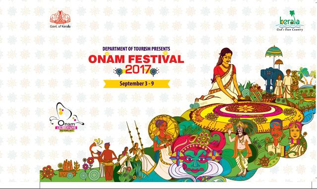 Onam celebrations by Kerala tourism Department at Thiruvananthapuram, Kerala till 09 Sept 2017. #Classical , #Traditional, #Folk Performances, Music , other entertainments.