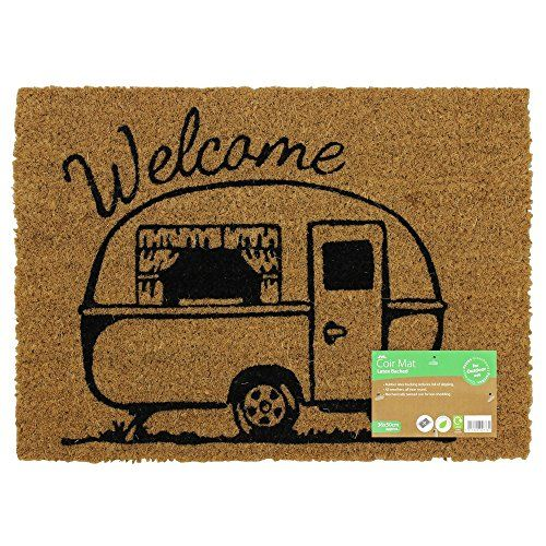 JVL Caravan Themed Latex Backed Coir Entrance Door Mat We... https://www.amazon.co.uk/dp/B0765FRDY9/ref=cm_sw_r_pi_dp_U_x_5KGFAb0P7KGKV