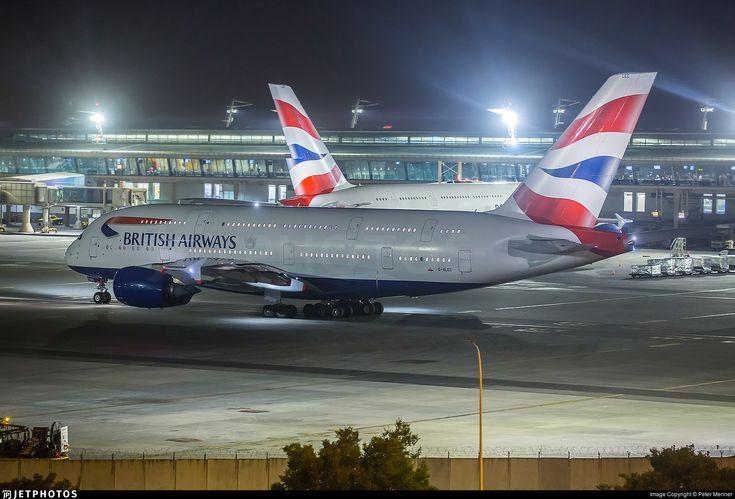 Photo of G-XLEC - Airbus A380-841 - British Airways