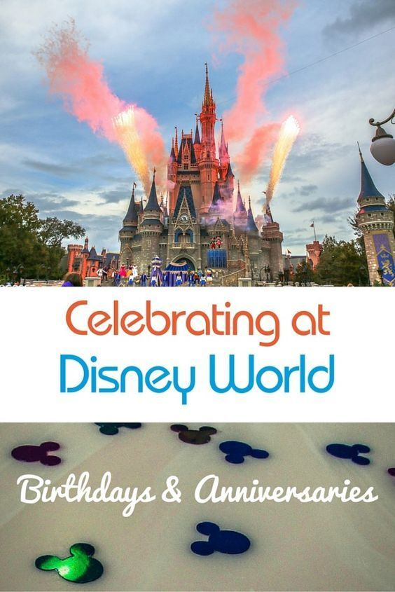 Planning a birthday or anniversary celebration while at Walt Disney World? Learn all about the ways you can celebrate at Disney.