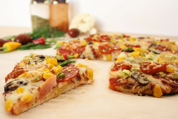 Ha-ha! Diet pizza! Here's the great idea!