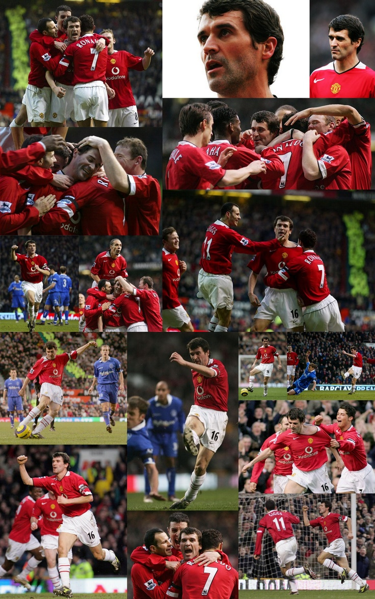 On this day, February 5 2005, Roy Keane scores his 50th goal for Manchester United, in a 2-0 win over Birmingham City.   Match images.  Click through for full size.