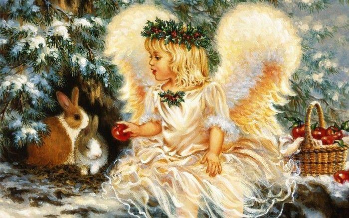Рождество на иллюстрациях и открытках