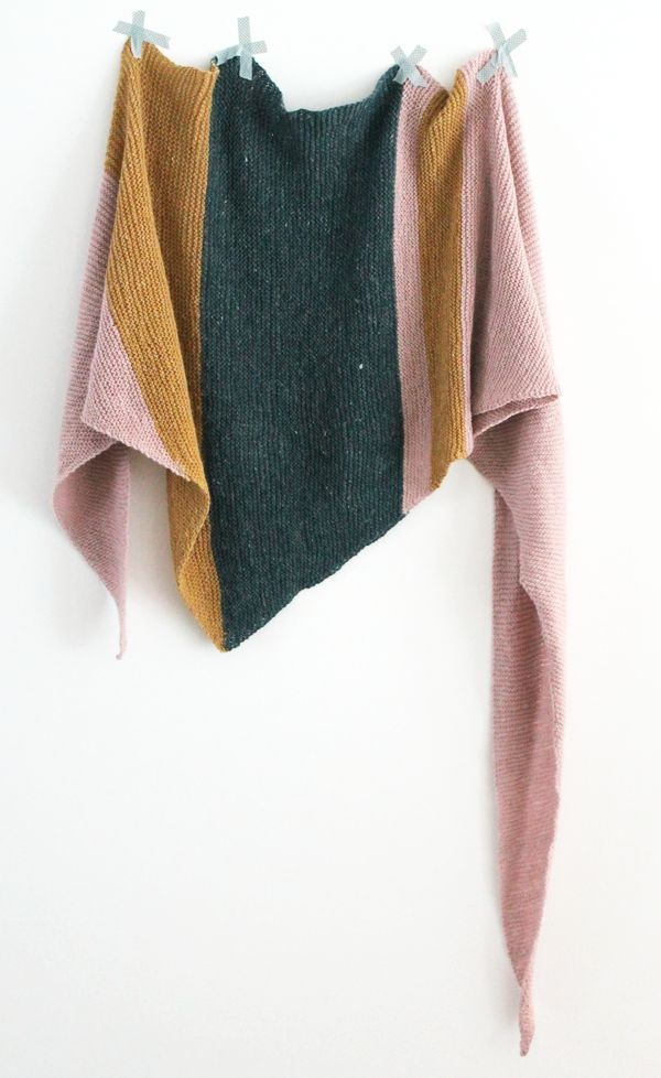 The most beautiful and simple scarf + how to knit it yourself!