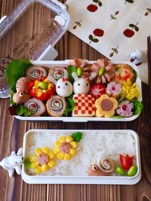お花見にも!お弁当を華やかにする飾り切テクまとめ | レシピサイト「Nadia | ナディア」プロの料理を無料で検索
