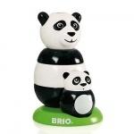 Brio Toddler houten stapel panda