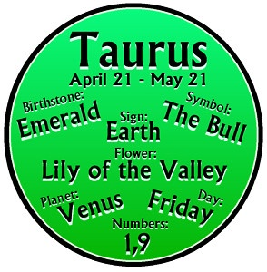 TAURUS-STAR-SIGN....yes ,I love the earth..lol