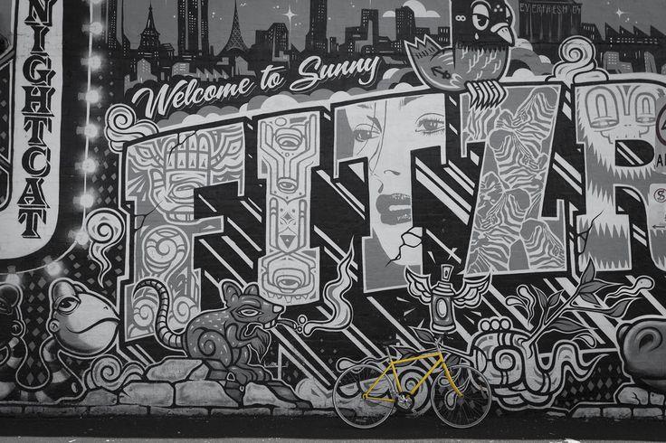 Fitzroy in Fitzroy, VIC #fitzroy #fitzroymelbourne #streetart #scharphearts