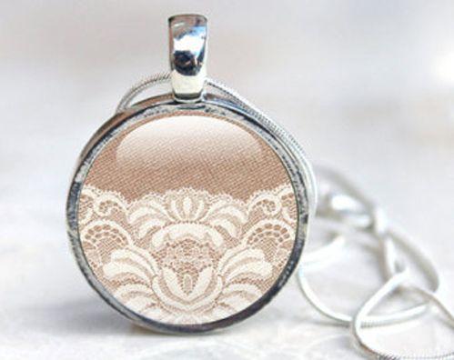 wedding dress repurpose craft ideas   Jewelry- Wear your wedding dress everywhere you go! A craft store ...