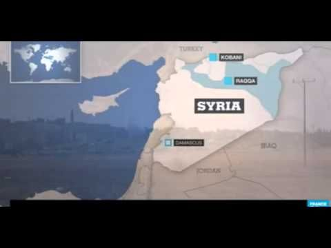 War in IRAQ & Syria 2014 Situation around Cobani (Ain-al-Arab)