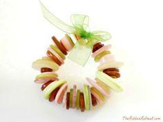 Button Wreath Ornament Tutorial