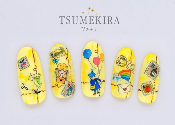 =new arrival = TSUMEKIRAネイルシール 各1,008円