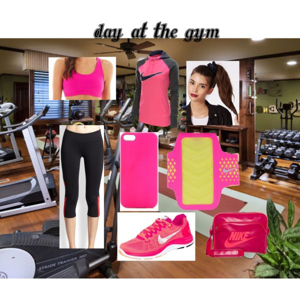 """day at the gym - follow me on polyvore """"Bird234"""""""