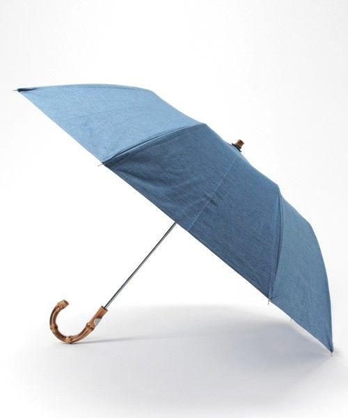 TRADITIONAL WEATHERWEAR(トラディショナル ウェザーウェア)の折りたたみ傘 / バンブー(折りたたみ傘)|ライトブルー