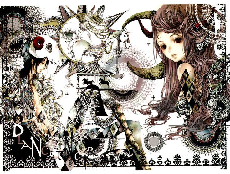 Tags: Scan, Tukiji Nao, Nao Tsukiji Illustrations - NOSTALGIA