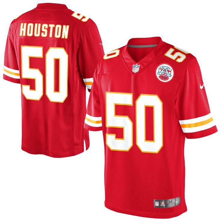 Justin Houston Kansas City Chiefs Nike Team Color Limited Jersey - Red - $149.99