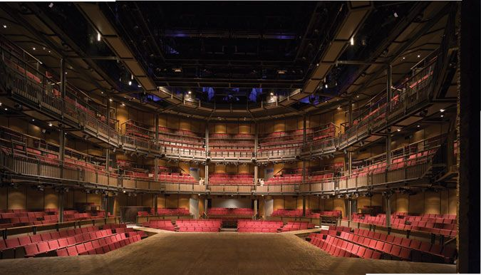 In Detail> Royal Shakespeare Theater - The Architect's Newspaper