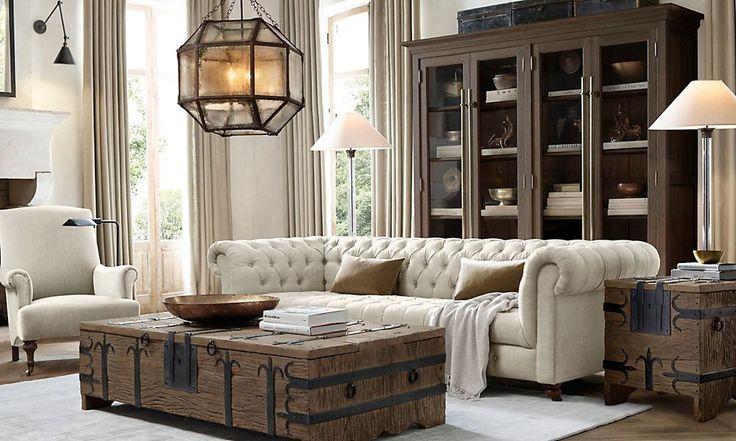 Rooms Restoration Hardware Livingroom Pinterest